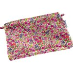 Tiny coton clutch bag purple meadow - PPMC