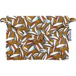 Little envelope clutch cocoa pods - PPMC
