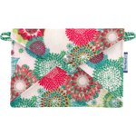 Little envelope clutch powdered  dahlia - PPMC