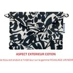 Little envelope clutch chinese ink foliage  - PPMC
