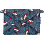 Little envelope clutch flowered night - PPMC