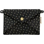 Little envelope clutch golden straw - PPMC