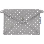 Little envelope clutch light grey spots - PPMC