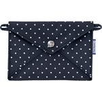 Little envelope clutch navy blue spots - PPMC