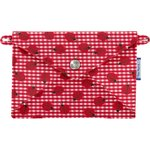 Little envelope clutch ladybird gingham - PPMC
