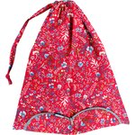 Lingerie bag cherry cornflower - PPMC