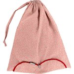 Lingerie bag mini pink flower - PPMC