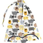 Lingerie bag yellow sheep - PPMC