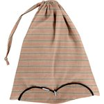 Lingerie bag bronze copper stripe  - PPMC