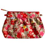 Pleated clutch bag flower of cherry tree - PPMC