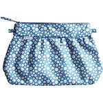 Pleated clutch bag flower cloudy - PPMC