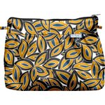 Pleated clutch bag 1000 leaves - PPMC