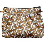 Pleated clutch bag cocoa pods - PPMC