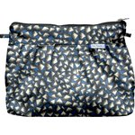 Pleated clutch bag parts blue night - PPMC