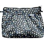 Pochette plissée  eclats bleu nuit - PPMC