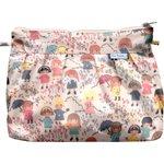 Pleated clutch bag petites filles pop - PPMC