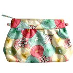 Pleated clutch bag umbels - PPMC