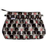 Pleated clutch bag pop bear - PPMC