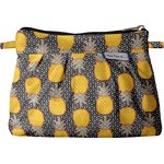 Mini Pleated clutch bag pineapple - PPMC