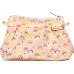 Mini Pleated clutch bag rainbow - PPMC