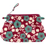 Mini Pleated clutch bag ruby cherry tree - PPMC
