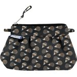 Mini Pleated clutch bag  hedgehog - PPMC