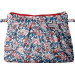 Mini Pleated clutch bag flowered london - PPMC