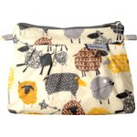 Mini Pleated clutch bag yellow sheep - PPMC