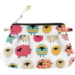 Mini pochette plissée mouton multicolore - PPMC
