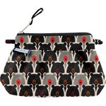 Mini Pleated clutch bag pop bear - PPMC