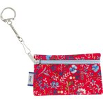 Keyring  wallet cherry cornflower - PPMC