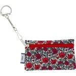 Pochette porte-clés coquelicot - PPMC