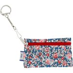 Keyring  wallet flowered london - PPMC