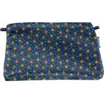 Coton clutch bag glittering heart - PPMC