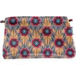 Pochette tissu fleurs de savane - PPMC