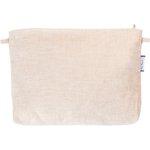 Coton clutch bag  glitter linen - PPMC