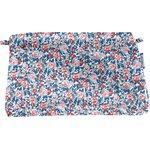 Pochette tissu london fleuri - PPMC