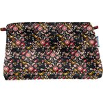 Coton clutch bag ochre bird - PPMC