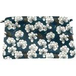 Pochette tissu paradis bleu - PPMC