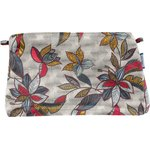 Coton clutch bag wax flowery - PPMC