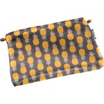 Tiny coton clutch bag pineapple - PPMC
