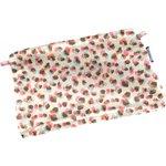 Mini pochette tissu confetti aqua - PPMC