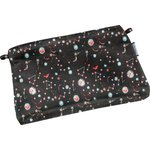 Mini pochette tissu constellations - PPMC