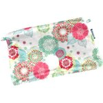 Tiny coton clutch bag powdered  dahlia - PPMC