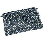 Mini estuche de tela  piezas azul noche - PPMC