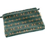 Tiny coton clutch bag eventail or vert - PPMC