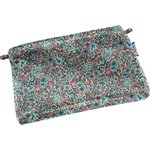 Tiny coton clutch bag flower mentholated - PPMC