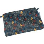 Tiny coton clutch bag jungle party - PPMC