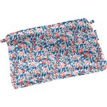 Tiny coton clutch bag flowered london - PPMC