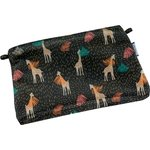 Tiny coton clutch bag palma girafe - PPMC